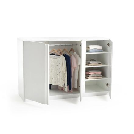 armoire basse penderie