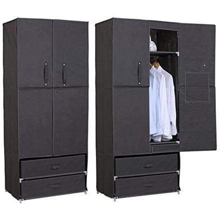 armoire en tissu