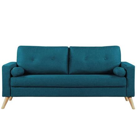 canapé bleu