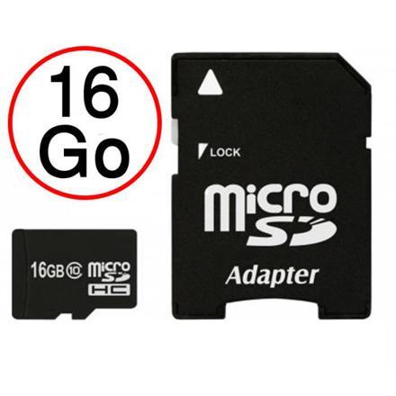 carte micro sd 16 go