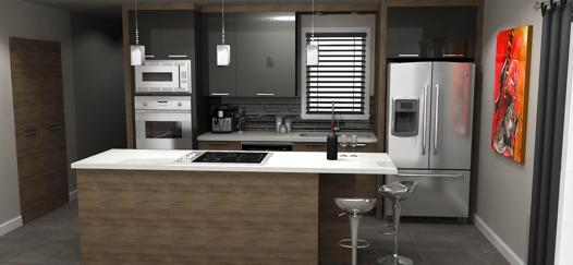 cuisine en 3d
