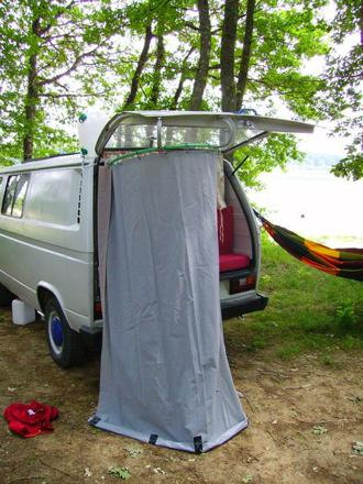 douche camping