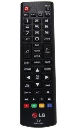 lg telecommande