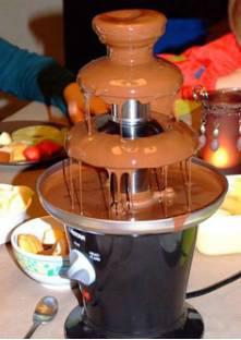 recette fontaine chocolat