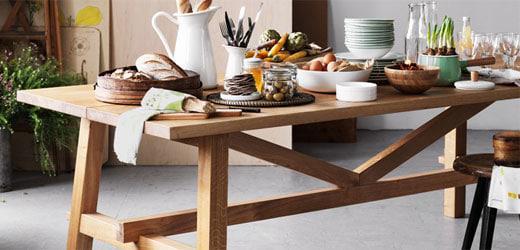 tables de salle à manger et de cuisine