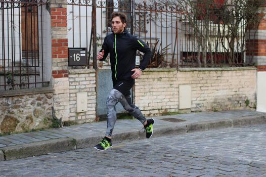 tenue pour courir homme