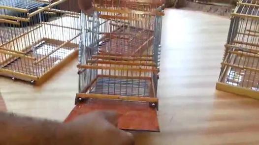 cage en bois