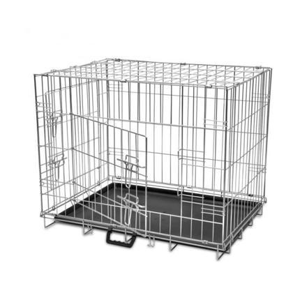 cage metal chien