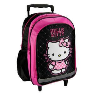 cartable a roulette hello kitty