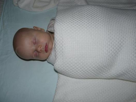 cocooning baby