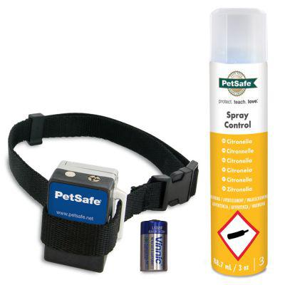 collier anti aboiement spray