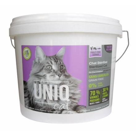 croquettes sans céréales pour chat stérilisé