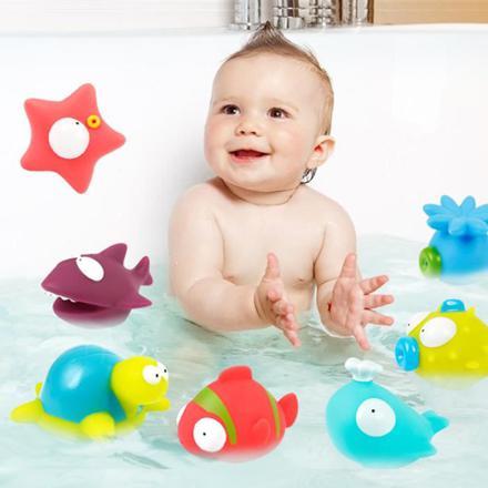 jeux pour le bain bébé