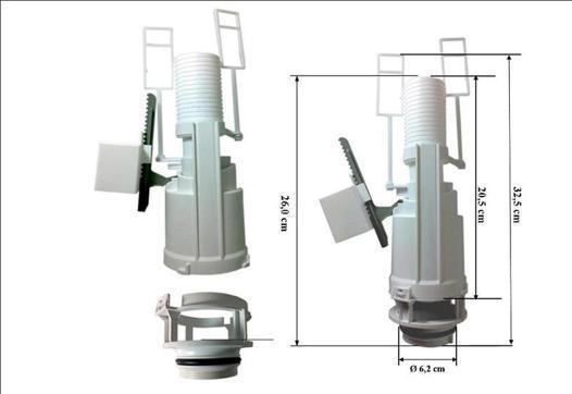 mecanisme chasse d eau wc suspendu