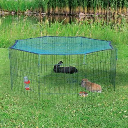 parc lapin extérieur
