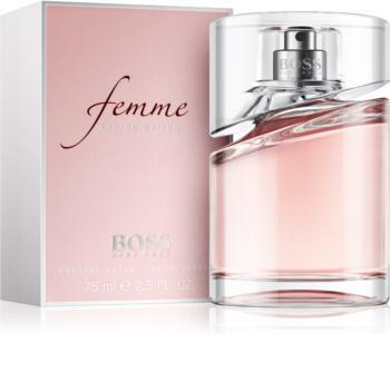 parfum hugo boss femme