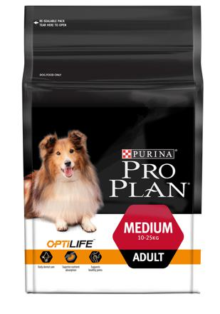 pro plan medium adulte