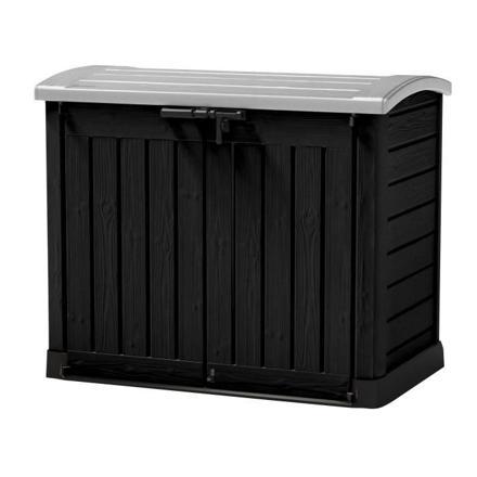 rangement poubelle exterieur