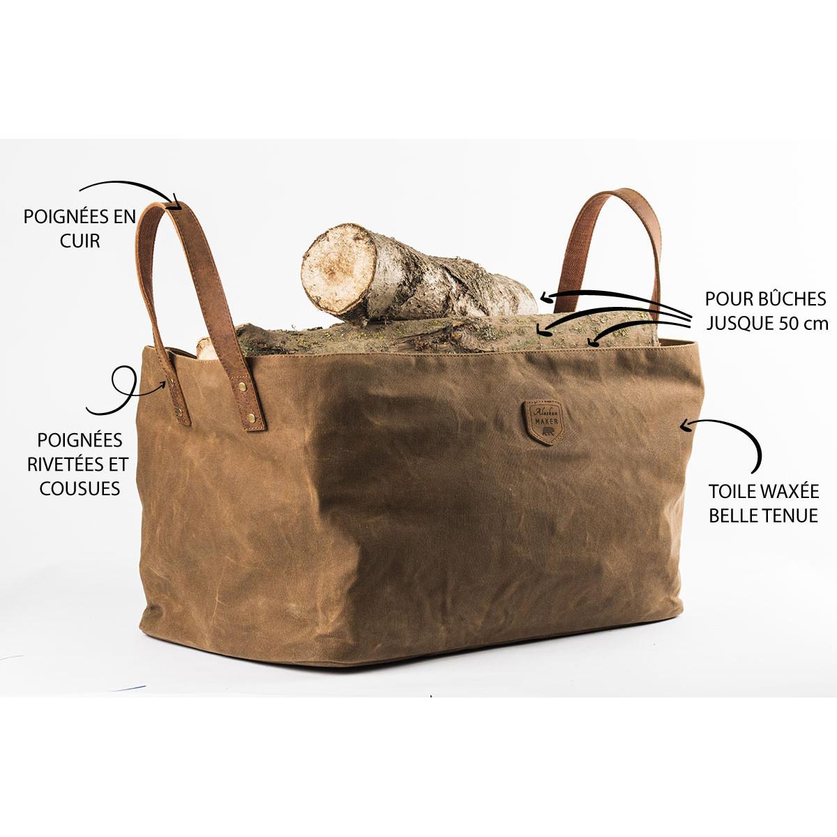 sac a buches cuir