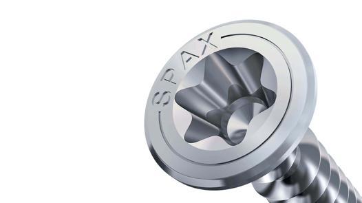 T de Star Plus 0557000500443 100/Pi/èces Spax Vis terrasse aluminium 5,0/x 44/mm
