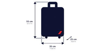 taille bagage cabine klm