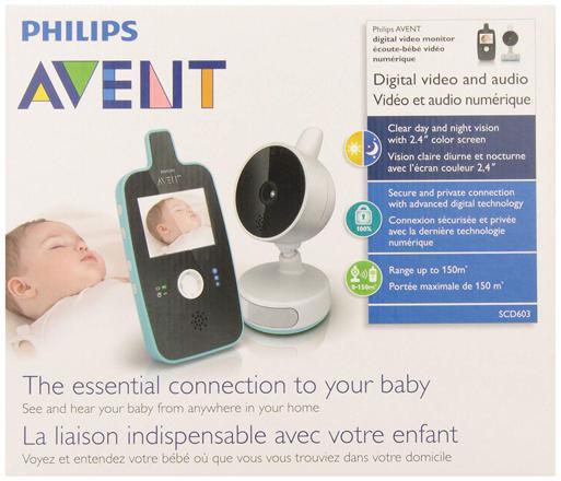 babyphone video philips avent