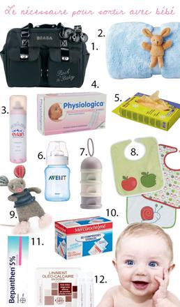 essentiel pour bébé