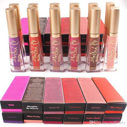 gloss too faced