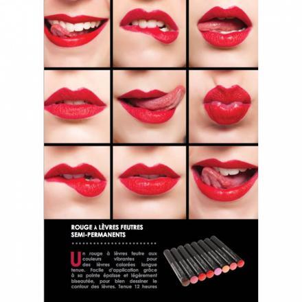 rouge à lèvre semi permanent