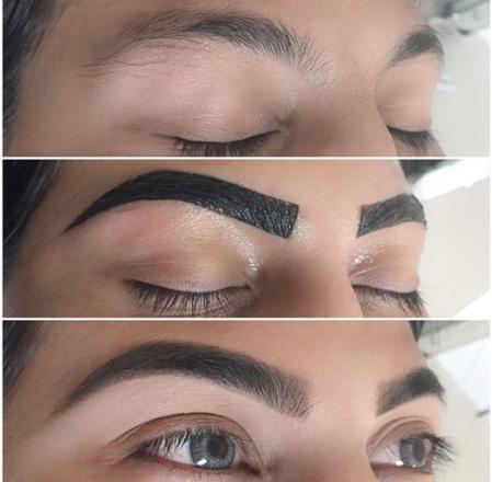 teinture pour sourcils