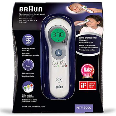 thermometre sans contact braun