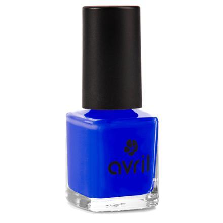 vernis bleu électrique