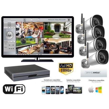 kit camera de surveillance exterieur