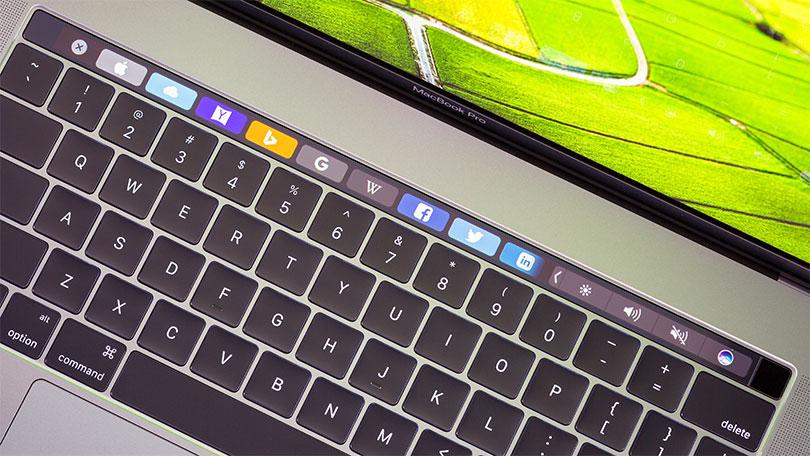 macbook touch bar