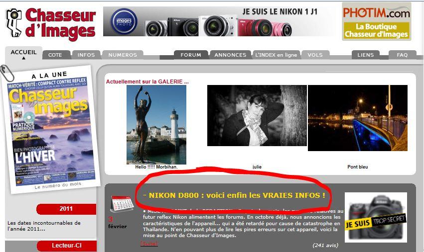 forum chasseur d images